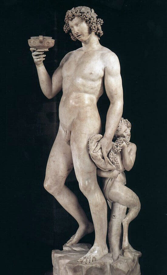 Bacchus, by Michelangelo