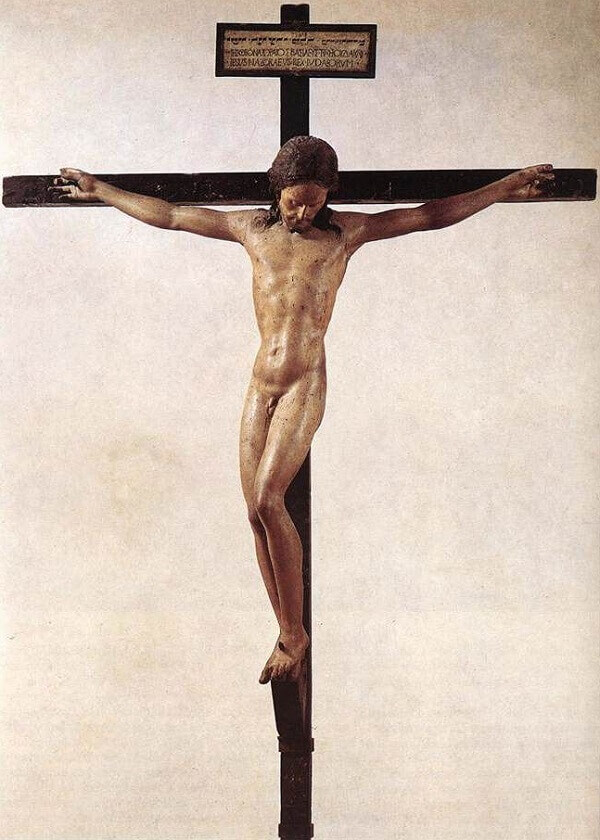 Crucifix, by Michelangelo