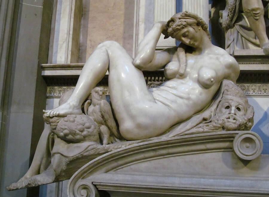 Night by Michelangelo