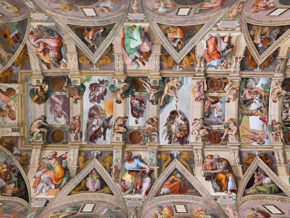 Sistine Chapel, by Michelangelo
