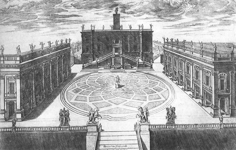 Palazzo dei Conservatori Design, by Michelangelo