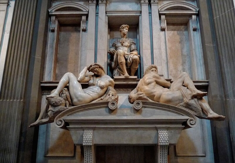 Photo of The Tomb of Giuliano by Michelangelo